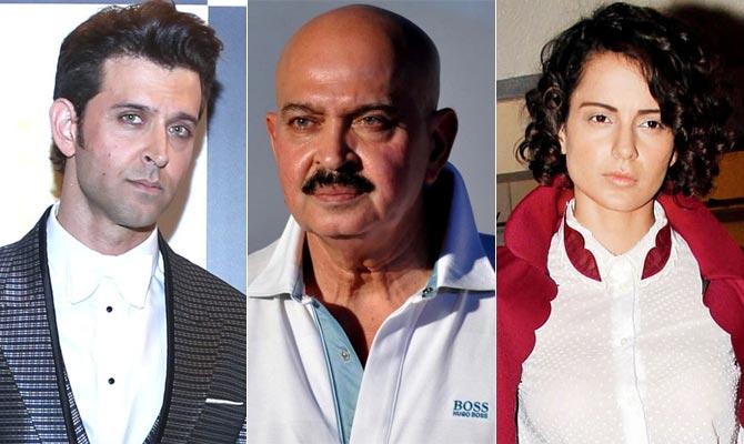 Rakesh Roshan,Kangana Ranaut,Hrithik Roshan,Hrithik Kangana relationship,Hrithik Kangana legal battle,Hrithik Kangana controversy,Hrithik Kangana coldwar,Hrithik Kangana affair