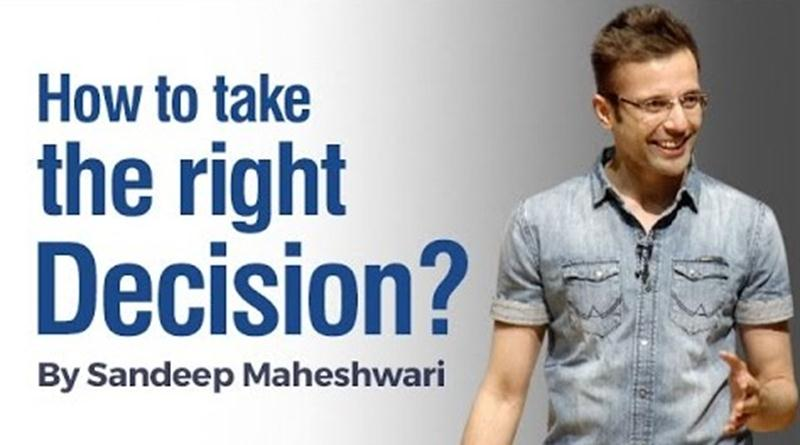 Sandeep Maheshwari is a motivational speaker who inspired people to live their life happily.