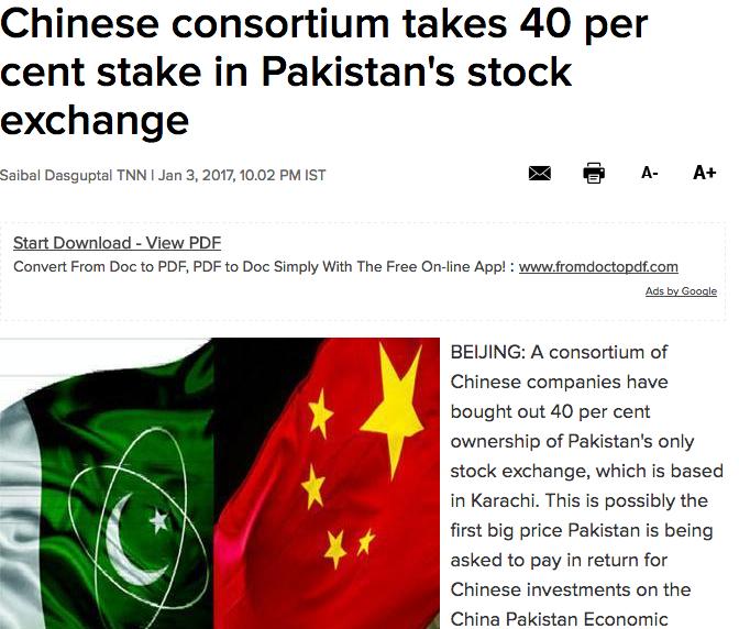 Pakistan Economically Bankrupt