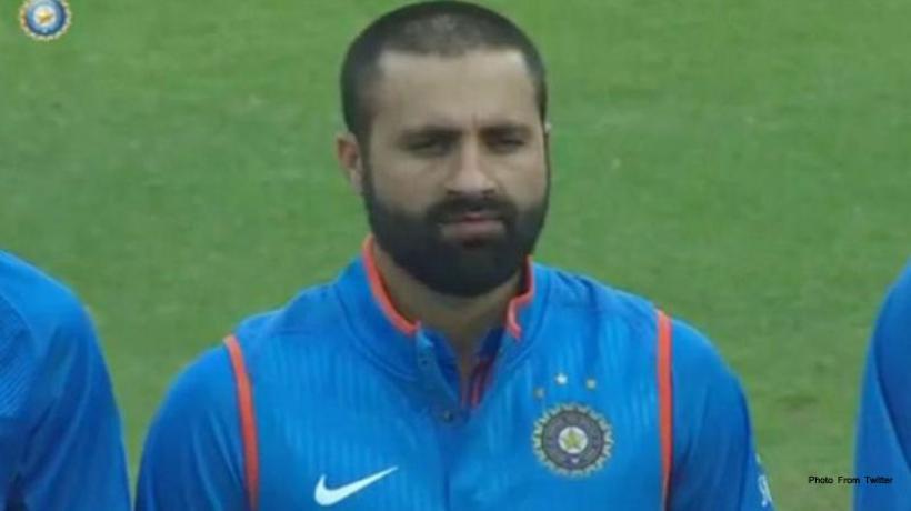मुस्लिम क्रिकेटर रसूल का राष्ट्रगान का अपमान करते ये रहा विडीओ