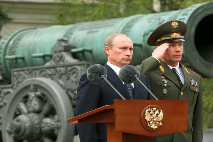 Russia Celebrates 70th Anniversary Of Presidential Regiment Day