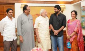 prabash kumar meets pm modi