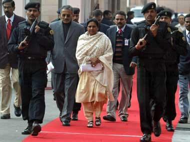 Mayawati Blames RSS