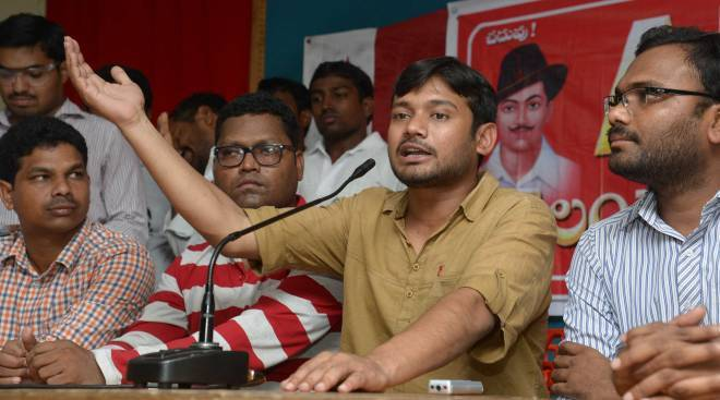Kanhiya Working Against Hindu Community