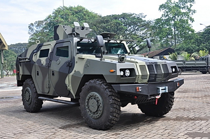 Bullet Proof Army Vehicles