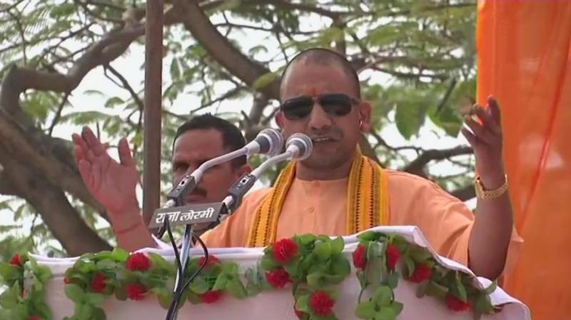 Yogi Accuses Congress for naxal support