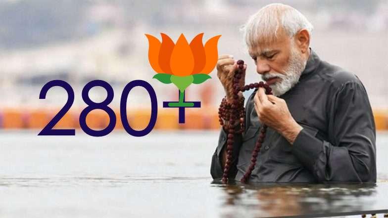 ब्रेकिंग सर्वे : BJP अकेले 280 + के पार , NDA मिला के 345 से ऊपर स्कोर बनेगा !